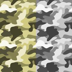 Seamless millitary pattern