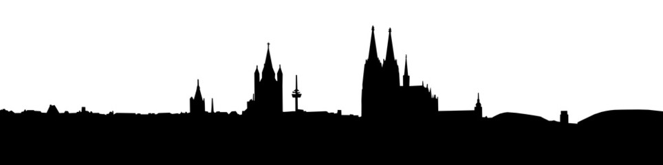 Skyline Cologne Germany