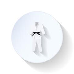 Kimono flat icon