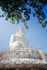 The marble statue of Big Buddha in Phuket