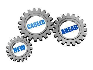 new career ahead in silver grey gears
