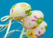 Beautiful easter eggs