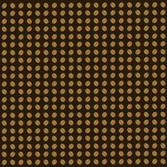 coffee beans vector background