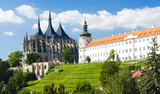 Cathedral of St. Barbara and Jesuit College, Kutna Hora, Czech R