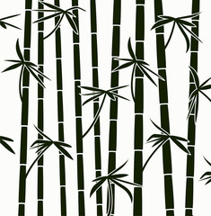 vector  bamboo shoots background pattern