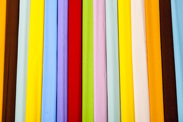 Colorful rainbow paper background