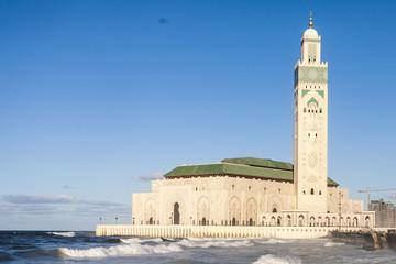 Hassan II mosque, Casablanca Morocco