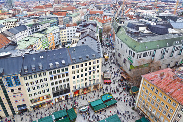 Munich. Top view