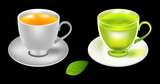 Tea cup vector illustration..