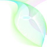Vector gird leaf poster