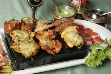 Mixed Kebab – A grilled meat snack