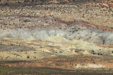 painted desert dans Arch national park, Arizona