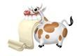 mucca pergamena