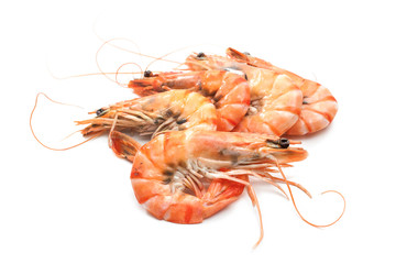 cooked tiger shrimps