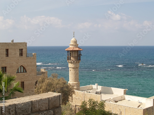 Israel. Mosque Dzhama el-Bajar (al-Bakhr, the Sea mosque) in Yaf