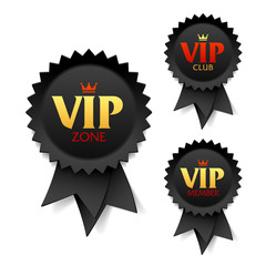 VIP zone, club and member labels