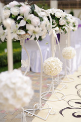 Bouquets on Stands