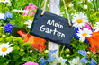 Gartentafel