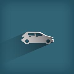 Car. Vector format