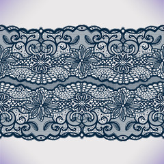 Template frame design. Lace Doily.