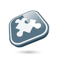 puzzle symbol zeichen icon modern
