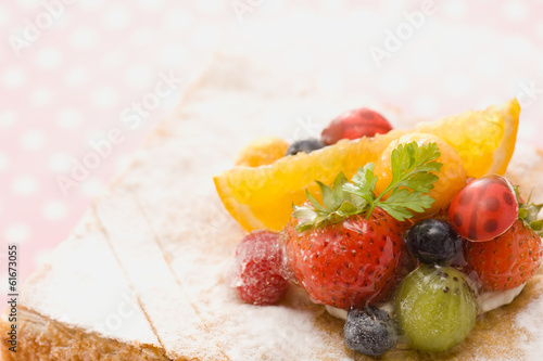 Fruits millefeuille