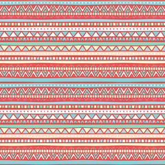 tribal pink and blue pattern