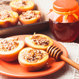 Stuffed Baked Peaches