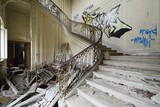 old abandoned stair