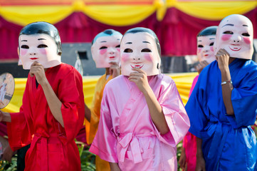 Chinese New Year Celebration in Hua Hin, Thailand