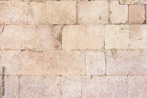 Ancient roman stone wall texture background