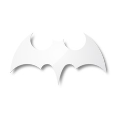 White Bat Icon