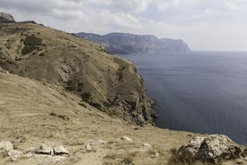 Берег Крыма в районе Балаклавы.