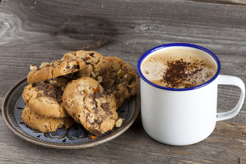 Selbstgemacht Walnuss Chili Cookies