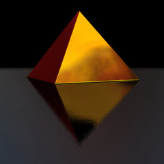 golden pyramid