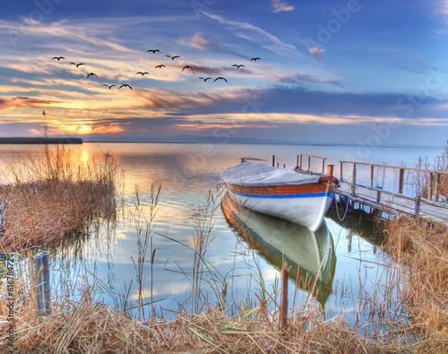 fototapeta na ścianę el lago de Colores