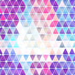 Colorful triangles abstract geometric background