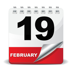 19 FEBRUARY ICON