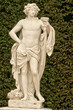 France, marble statue in the Versailles Palace park