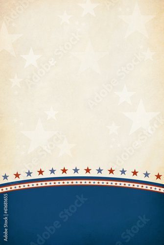 Patriotic background with room for copy space.