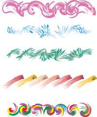 Wzór kolorowy