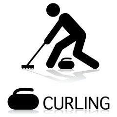 Curling icon