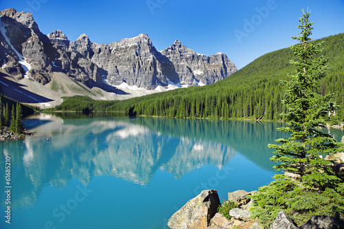 canvas print picture Kanada, Lake Louise