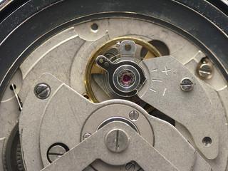 Orologio meccanico all'interno 2