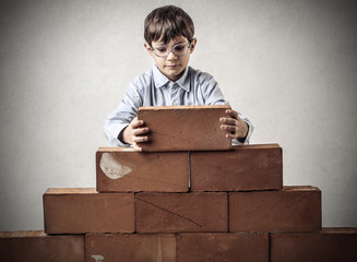building kid