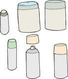 Generic Deodorant Objects
