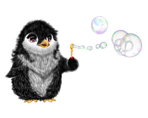 Penguin bubbles