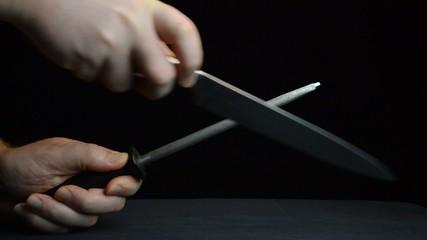knife sharpening cool light