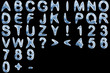 Icy fonts