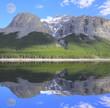 Minnewanka Lake. Banff National Park. Alberta.